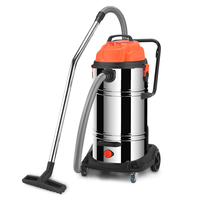 Jarrow Commercial Large Industry Vacuum Cleaner Water Absorption High Power Workshop Factory Strong Wet And Dry