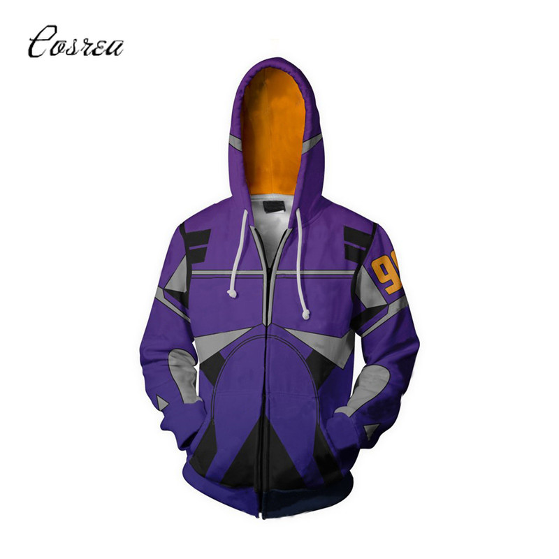 Alita :Battle Angel Zipper Hoodies for Girls Supreme Female Sweatshirts Top Coat Cosplay Costume Jackets Ladies Halloween