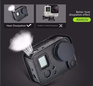 Image 1 - לgopro hero 4 שיכון תיק קשיח מגן נרתיק עור קייס מסגרת קלע אביזרי מצלמה מכסה עדשה לגיבור 3 + 4