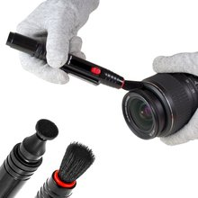 цена на VSGO Professional Lens Cleaning Pen DDL-1 Clean Pen + Microfiber Cleaning Cloth for Digital Camera Lens Cleaning