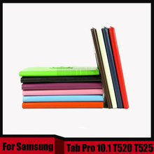 3 en 1 de la Tableta de LA PU del soporte del cuero funda Para El Samsung Galaxy Tab 10.1 Pro T520 T521 T525 + Stylus + Screen película