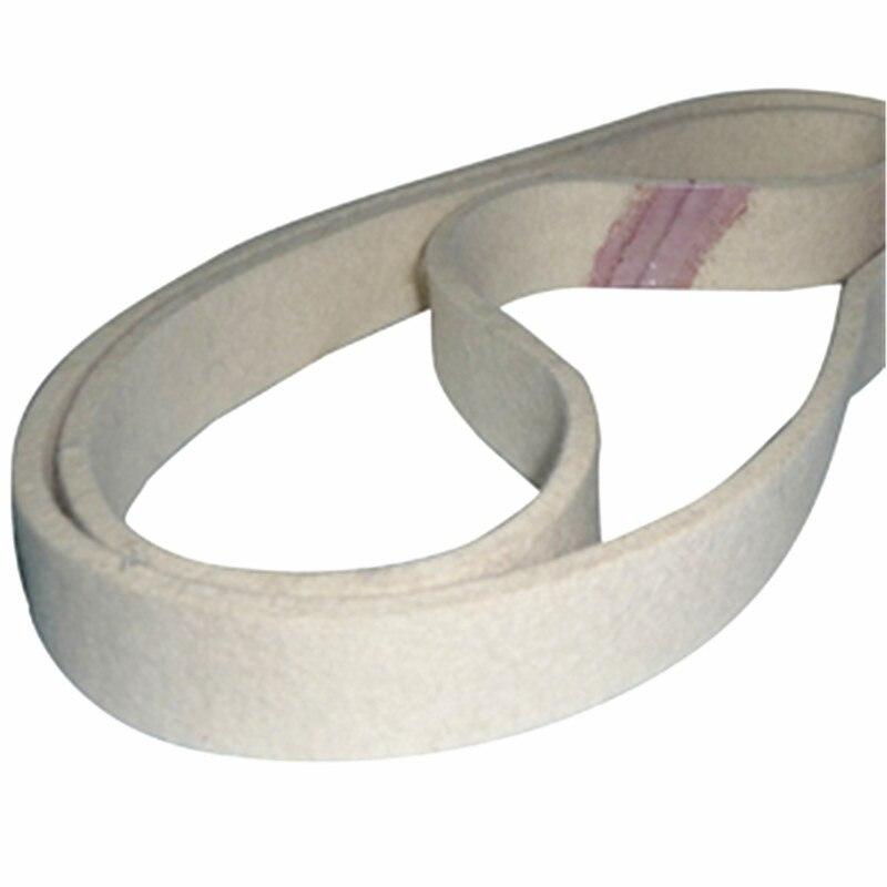 760x40mm Wool Belt For Mirror Polishing Tube Sander Polisher Sanding Belt