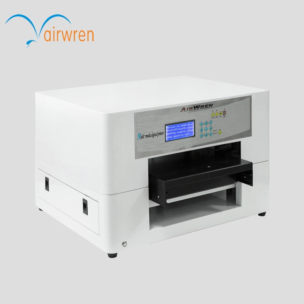 Новая машина для малого бизнеса A3 экологически растворителя печатная машина сотовом телефоне печати