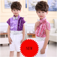 Girl Boy Jazz Dance Latin Primary School Laughing Sequins Costumes Kindergarten Graduation Performance Costume