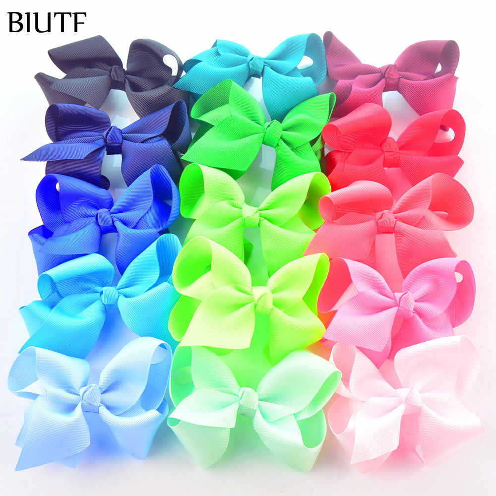 30pcs/lot 4.5*2.8 inch Sweet Grosgrain Ribbon Bow Girl Bowknot Pinwheel for Headband & Hairpin Accessories On Sale H0264
