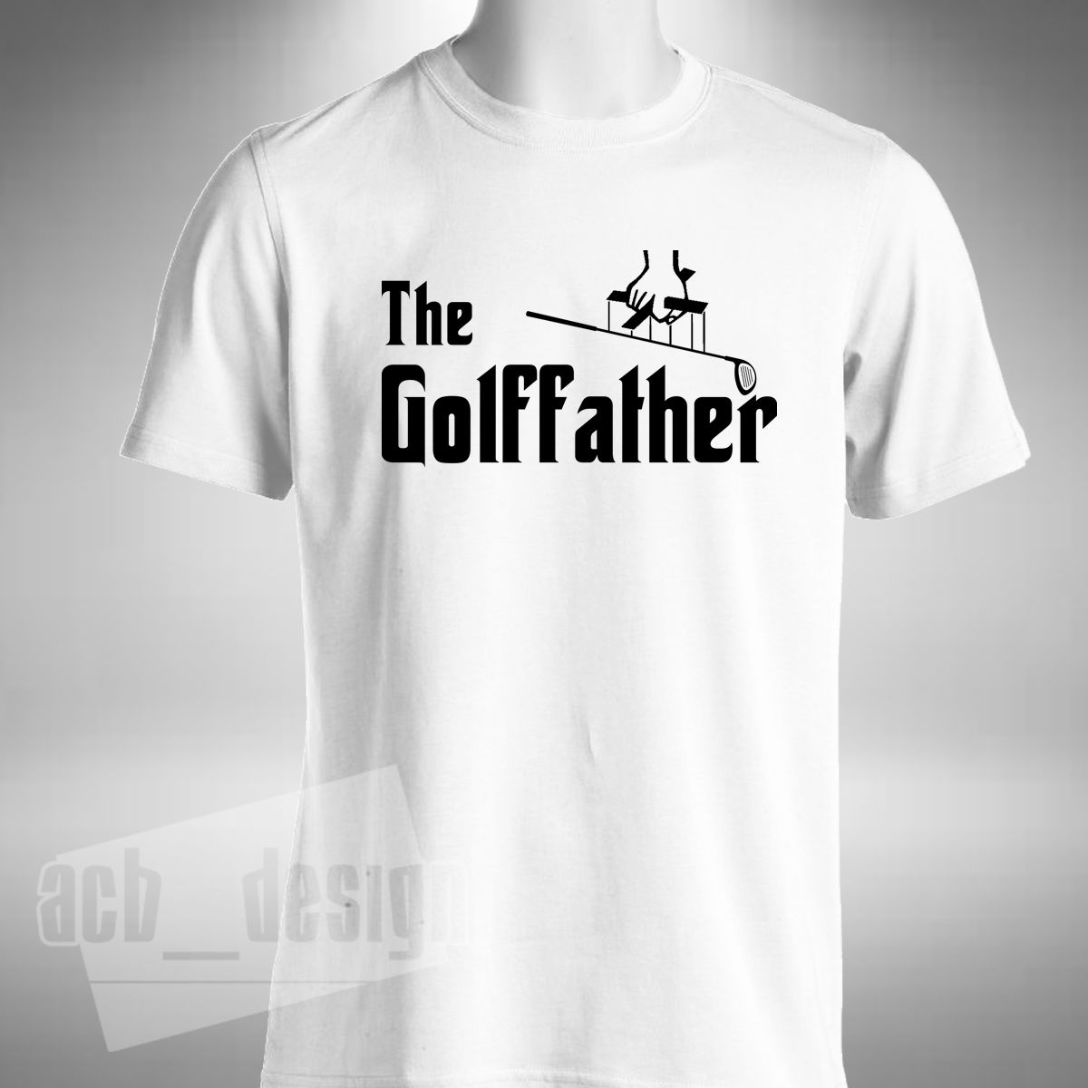 2018 New Fashion Tee Shirt Golffather T-shirt Funny Golfer Golfing Fathers Day McIlroy Spieth Summer T-shirt