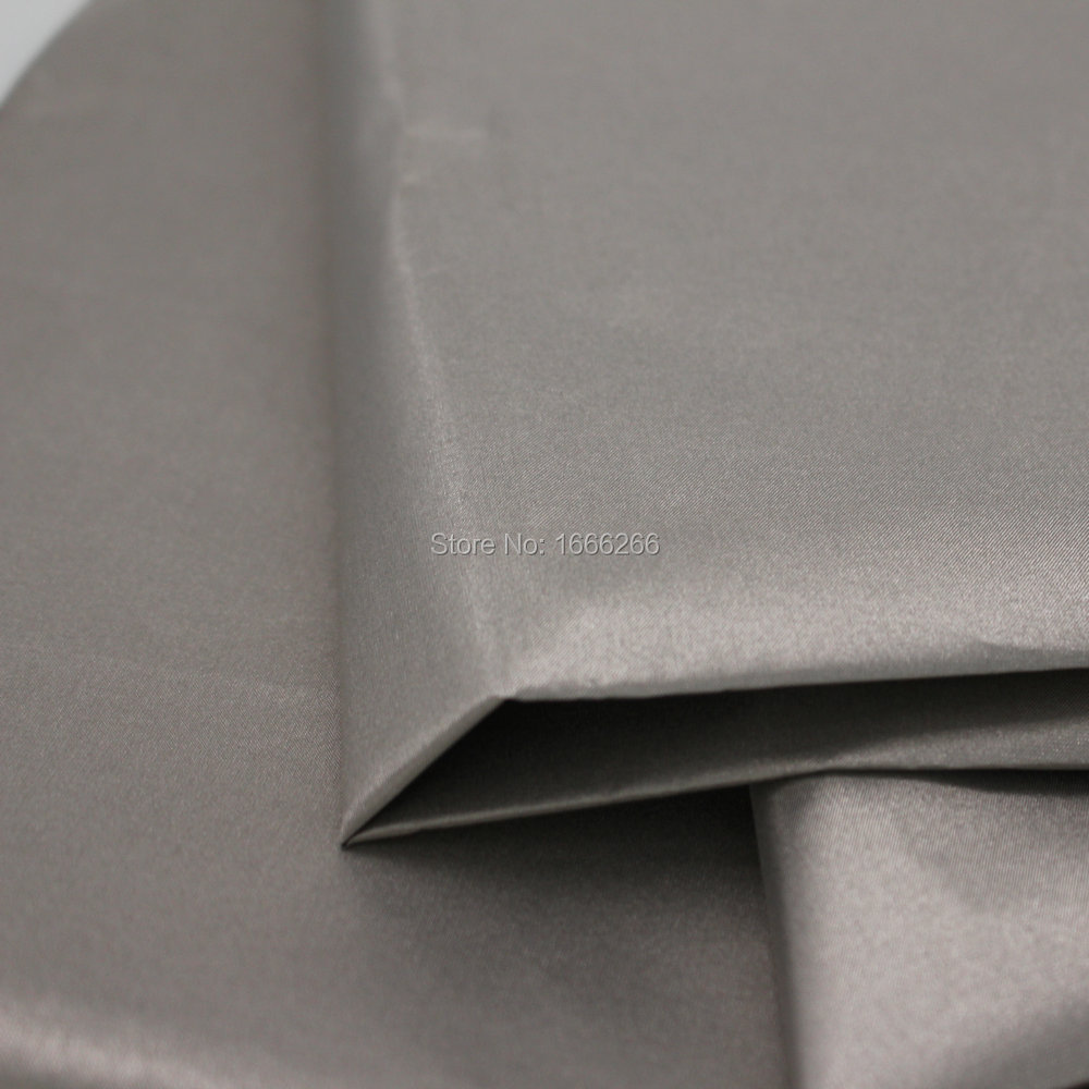 BLOCK EMF Nickel Copper Rfid Blocking Fabric For wallet ling / bag ling / shielding tent / shielding wall Fabric
