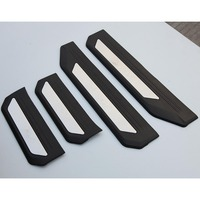 4PCS PEDAL DOOR SILL ENTRY GUARD SCUFF PLATE ACCESSORIES FOR HONDA VEZEL HRV HR V 2014 2015 2016
