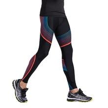Men's Compression Pants Running Tights Basketball Gym Pants Bodybuilding Jogging