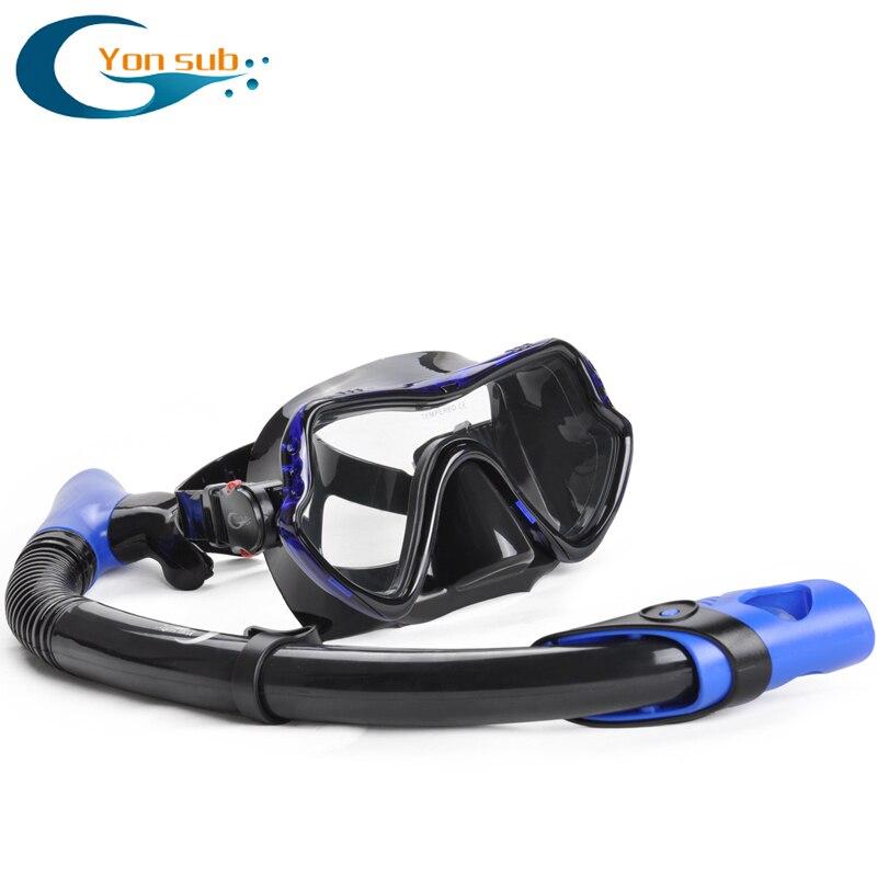 Máscara de buceo profesional de silicona para adultos Buceo Buceo - Deportes acuáticos - foto 2
