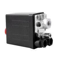 Convenient Heavy Duty 240V 16A Auto Control Load Unload Air Compressor Pressure Switch Control Valve 90