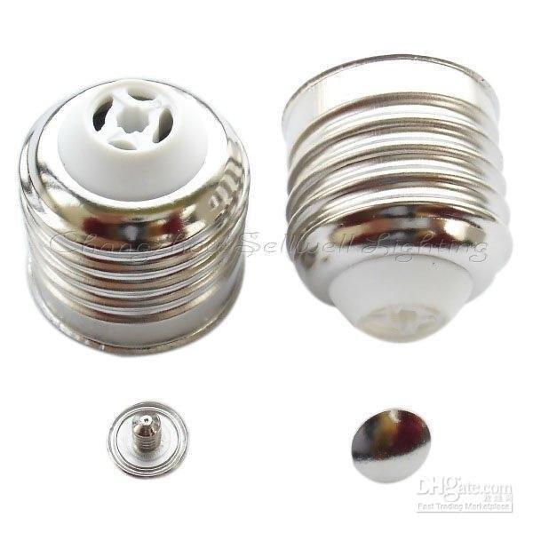 hole GOOD!Lamp-holder D194 E27 Nickel Iron Plum