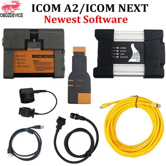Mais novo V2019.05 A2 ISTA ICOM a + B + C ICOM Próximo WIFI Diagnostic & Ferramenta de Programação Para Carros Suporte Multi -língua