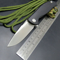 NY EDC High Quality Portable Pocket Tools F3 G10 Handle High End Folding Knife Outdoor Camping