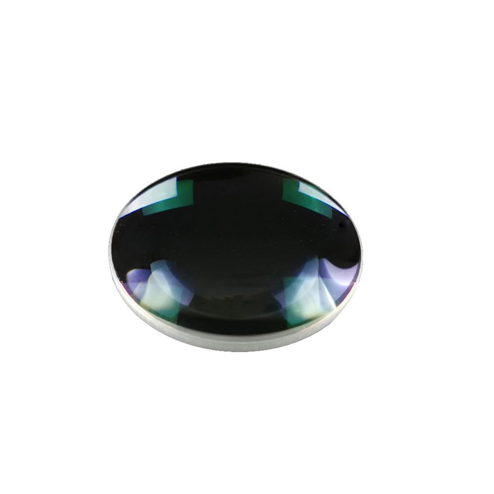 2pcs 42mm Diameter 65mm Focal Length H-K9 Optical Glass Test Convex Lens Optical Instrument Triple Prism
