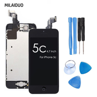 35 PCS Factory OEM AAA Quality LCD For IPhone 5C Touch Screen Digitizer Replacement Assembly Free