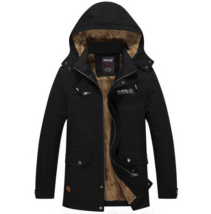 Hot Winter Men Thickening Casual Cotton Jacket and Coat warm parkas free shipping