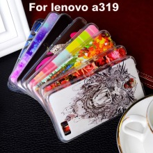Soft TPU Plastic Phone Case For Lenovo A319 4 5 inch A 319 Protective Shell Bag