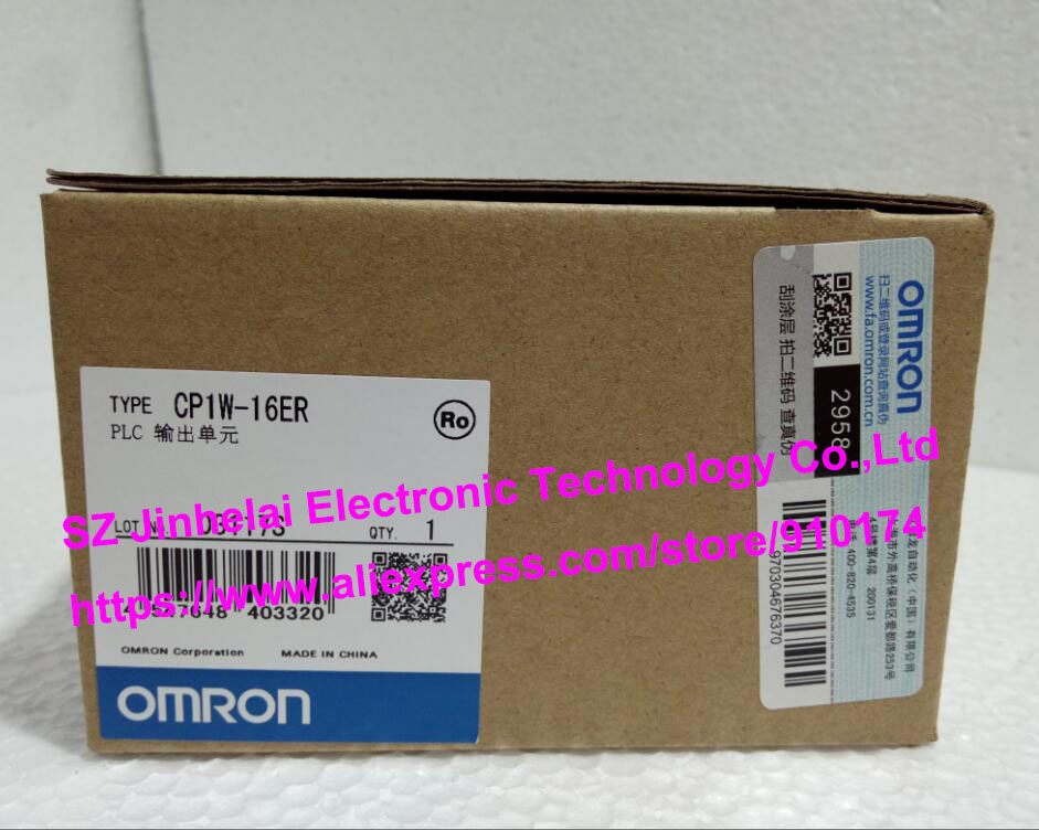 New and original  CP1W-16ER  OMRON PLC OUTPUT UNIT new and original e3x da11 s omron optical fiber amplifier photoelectric switch 12 24vdc