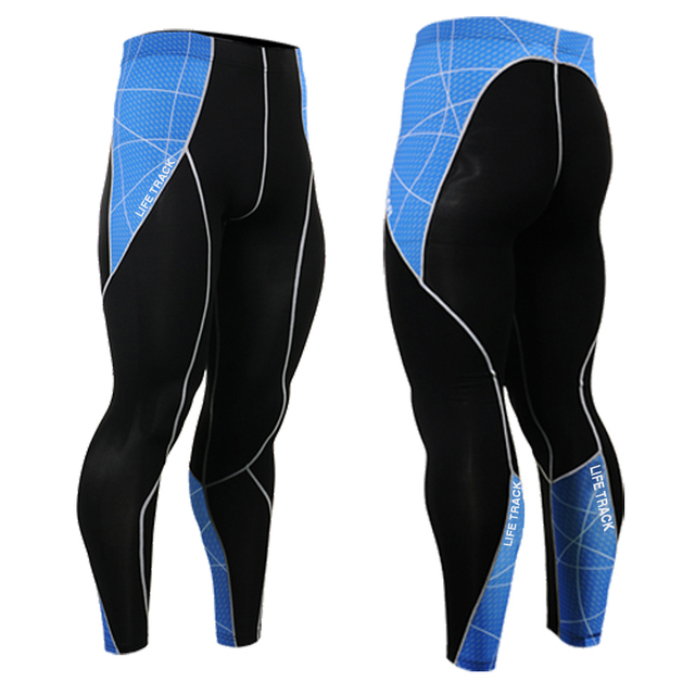 New Fashion Muscle Men's Clothing Compression Skin Tights Pants Trousers Mens  Mans Long Pants