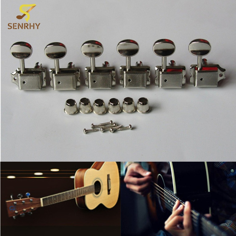 6PCS Right Handed Guitar Tuning Key Tuners Split Shaft Vintage Guitar Machine Heads For Musical Stringed Guitar Bass Accessories фонарь nite ize inova t3 new t3c 01 r7 black