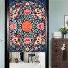 Japanese Noren Doorway Curtain Tapestry Cotton Linen Chinese Totem Door Curtain Screen Door Blind Room Divider