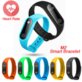 2017 Newest M2 Smart Bracelet Wristband 0.42 Inch OLED Screen IP67 Waterproof Support Heart Rate Monitor Band For Android IOS