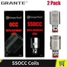 2/Pack Original Kangertech SSOCC OCC Coil For Kanger Subox mini Protank  Toptank Mini Atomizers Vape