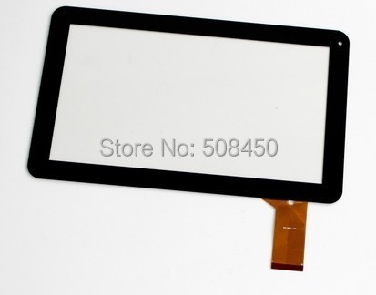 Black Original 10.1 inch Gooweel Q102 Tablet Capacitive touch screen Touch panel Digitizer Glass Sensor Free Shipping original 7 inch allwinner a13 q88 zhc q8 057a tablet capacitive touch screen panel digitizer glass sensor free shipping