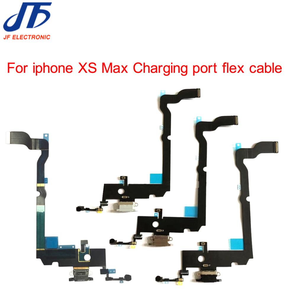 New Replacement Parts For iPhone XS Max Charging Charger Dock Connector Plug Port Flex Cable Ribbon