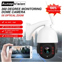LS-Q4-WIFI 5X ZOOM Lens high speed dome camera 3G 4G wireless wifi ptz ip camera 960P hd outdoor cctv camera with 32GB TF card