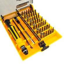 JK 6089 A B C 45 in 1 Multi purpose Precision Magnetic Screwdriver Sets Electrical Household