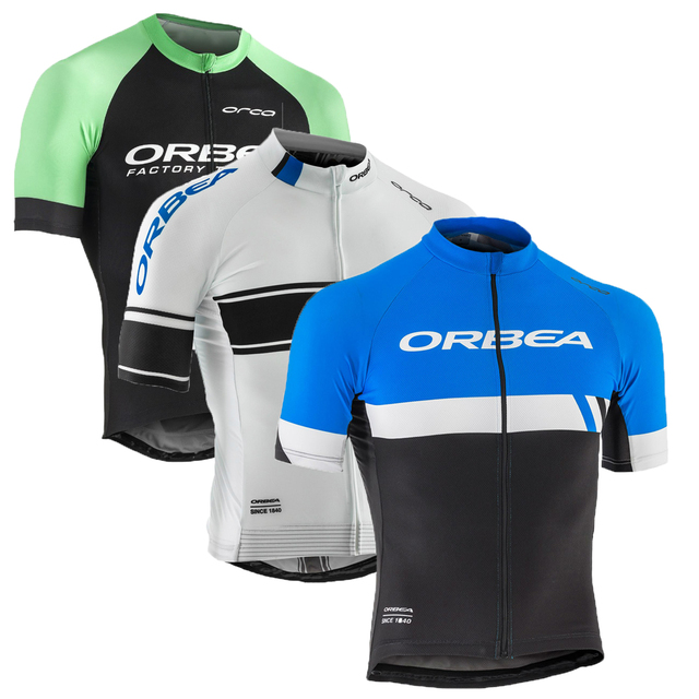 844306015 2017 Men Summer ORBEA Team Short Sleeve Ropa Ciclismo Maillot Bike Clothes  Cycling Jersey Quick Dry Breathable Bycicle Clothing