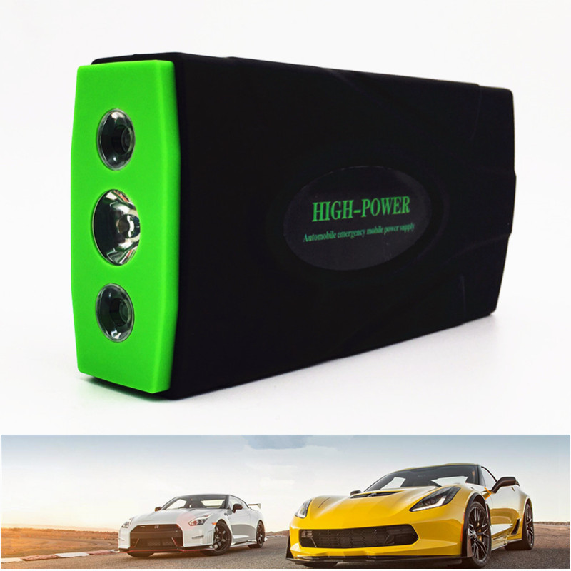 Promotion Multi-Function Mini Portable Emergency Battery Charger Car Jump Starter 38000mAh Booster Power Bank Starting Device