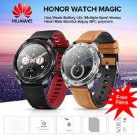 HUAWEI HONOR Watch Magic Glory легкие 50 м водостойкие AMOLED цветной экран gps NFC оплата умные часы новое поступление
