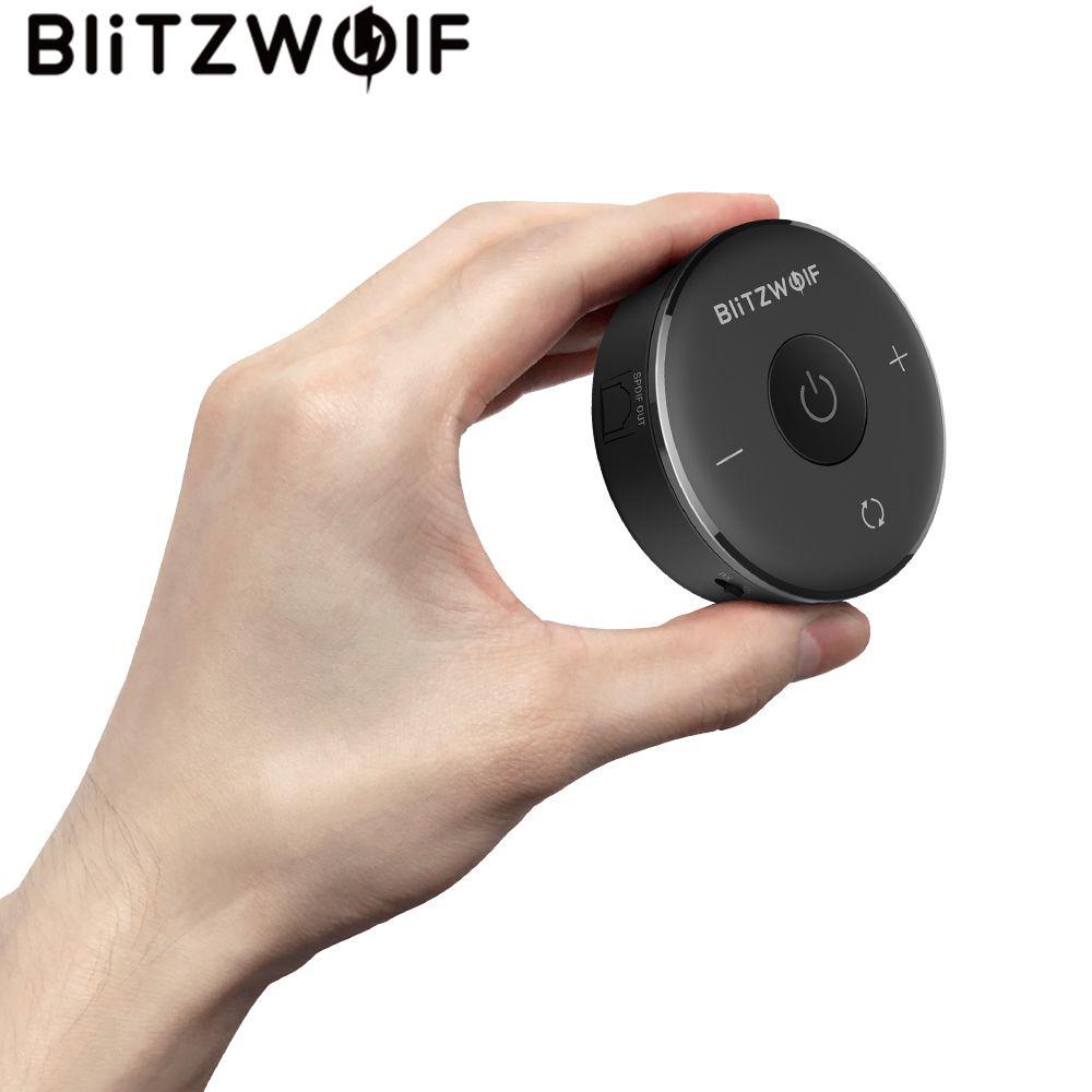 Blitzwolf BW-BR3 bluetooth 4.1 Audio Receiver Transmitter Aptx bluetooth Adapter for Headphones TV PC Speakers Wireless Audio amazon basic thermal laminator