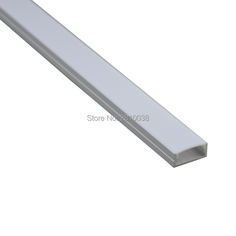 Lights & Lighting Led Lighting 10 X 0.5m Sets/lot Anodized Led U Profile Aluminium And U Al6063 Led Rope Light Channel Profile For Recessed Wall Lights With Traditional Methods