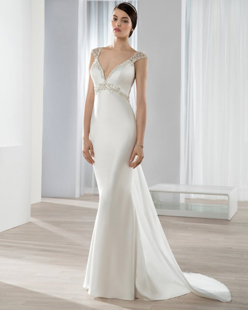 Popular country western wedding dresses buy cheap country for Sexy silk wedding dresses