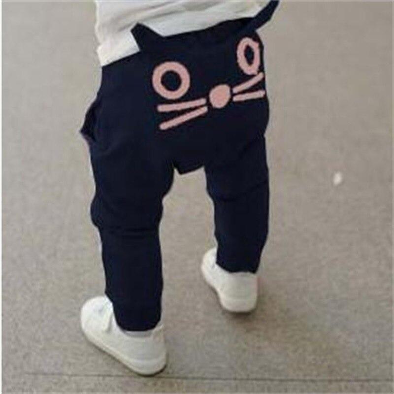 JXYSY Kids kleding en Najaar baby jongens meisjes harembroek kinderen casual katoen uil broek baby broek jongens broek
