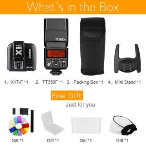 Image 2 - Godox TT350F 2.4G HSS TTL GN36 Flash Speedlite + X1T F Trigger Trasmettitore Kit per Fuji X Pro2/X T20/ x T1/X T2