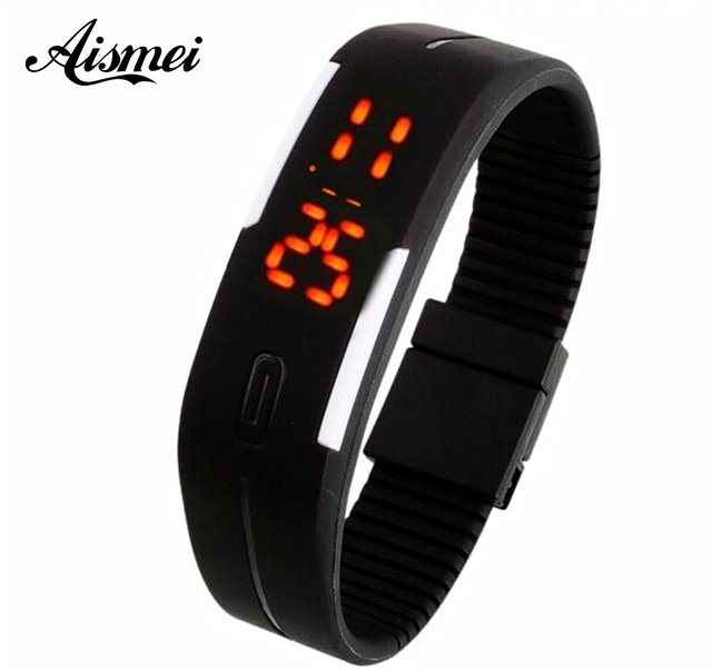 d3b250c00 2018 New Fashion Touch Screen LED Bracelet Digital Watches For  Men Ladies Child Clock Womens Wrist Watch Sports Wristwatch Saat
