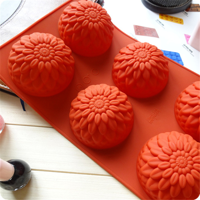 Sunflower High-quality New Silicone DIY Handmade Soap Jelly Pudding Mold Kitchen Baking Utensils Safety Environmental Protection