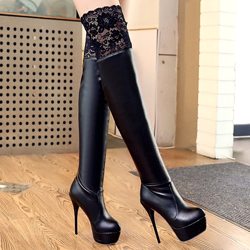 Online Shop botines mujer 2015 sexy ultra high heels boots ...