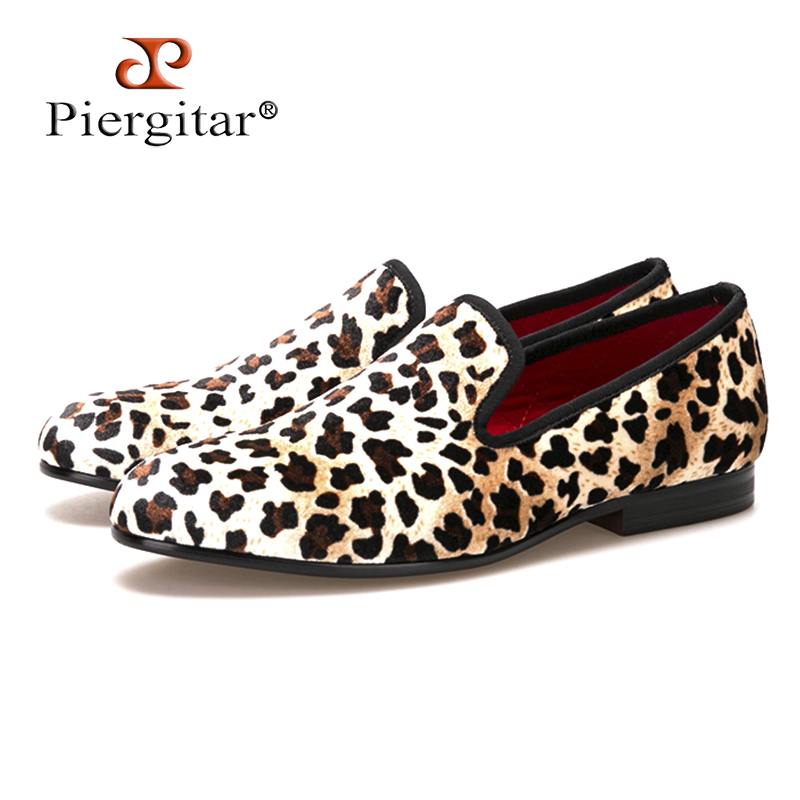 2018 New Fashion Men Leopard cotton Fabric Shoes British Mens Flats Smoking Slippers Men Loafers Casual Shoes Big Size 4-14 new fashion men striped cotton fabric shoes men plus size party and banquet loafers smoking slippers men s casual shoe us 4 17