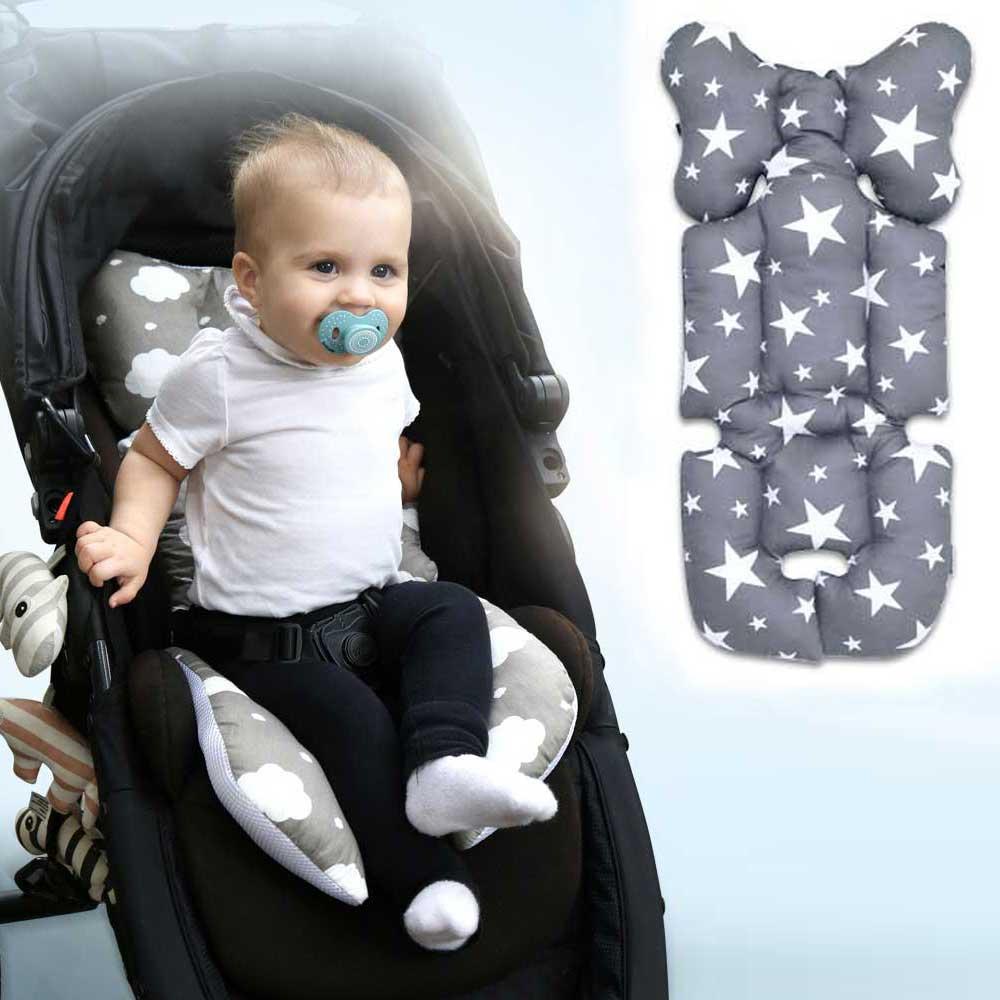 Bebê infantil carrinho de criança esteira do assento de carro do bebê almofada carrinho de bebê capa de almofada dobrável carrinhos carrinhos de bebê colchão carrinho de criança para crianças