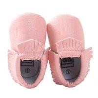 Новорожденных Для маленьких мальчиков девочек Обувь для малышей Обувь розовый Черный, серый цвет коричневый обувь для детей Высокое качест...