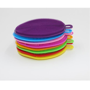 Image 3 - 1PCS Multifunctional Kitchen Wash Cleaning Brushes Brushes Silicone Dishes Bowl Cleaning Brushes Dish Kitchen Pots Cleaner Tools