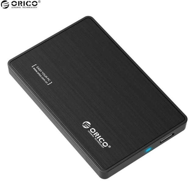 ORICO 2.5 Inch HDD/SSD Hard Drive External Enclosure Interface USB 3.0 to SATA 3.0 Tool Free Desktop PC Hard Disk Box