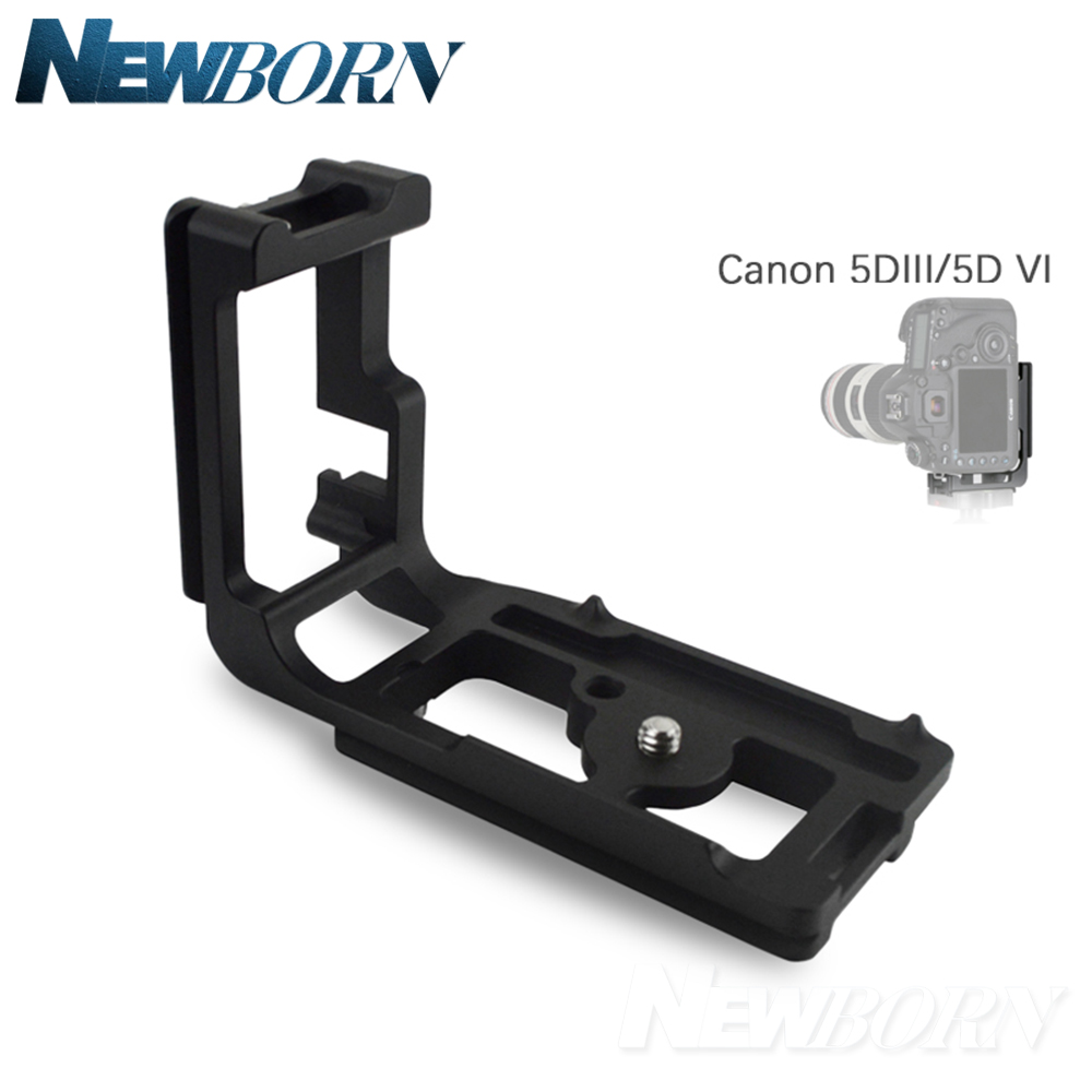 L Plate With Adjusting tool Arca Swiss Quick Release Vertical Bracket Hand Grip For Canon 5D3 5D Mark III 5D4 5D Mark IV quick release l plate vertical bracket holder for canon 7d body arca compatible
