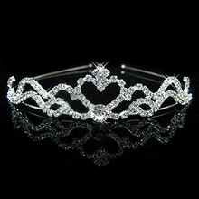 Luxury Crowns Headband with Rhinestones